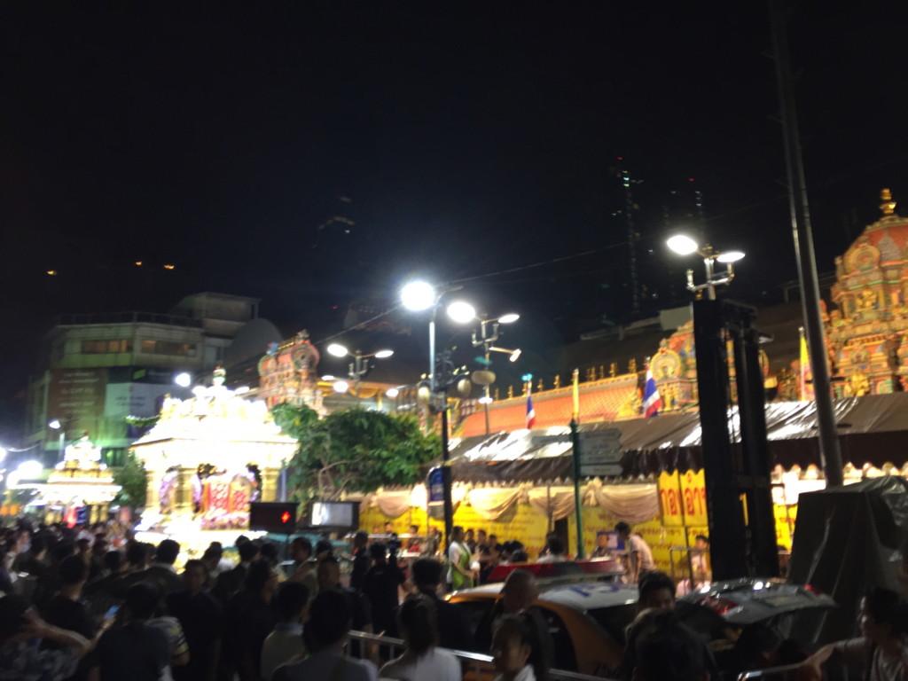 スリ・マハ・マリアマン寺院。「祭りのすべては、ここから始まっていた