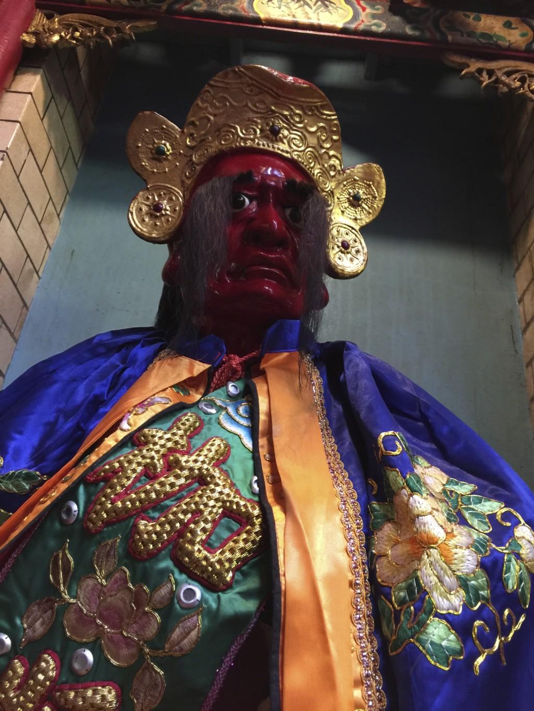 巨大マユゲの神様(青山宮)
