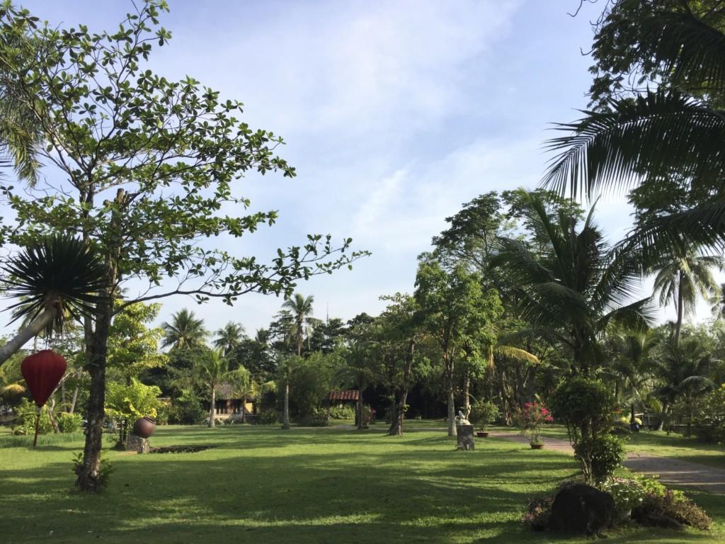 Bình Quới Tourist Village 公園、ゴルフ場のように広々