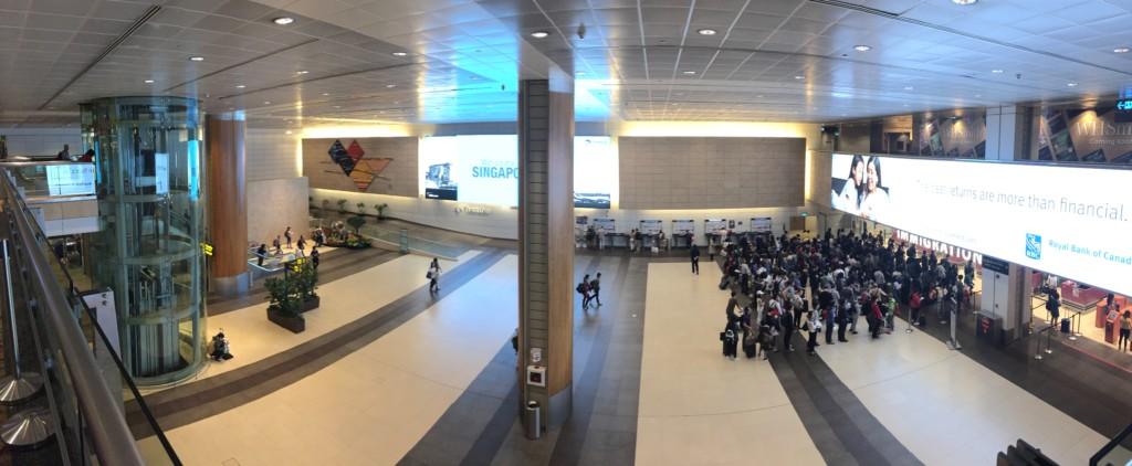 「世界一の空港」チャンギ空港