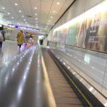 「世界一、近い海外」のひとつ、桃園空港へ到着
