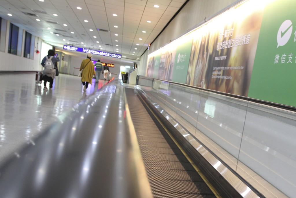 「世界一、近い海外」のひとつ、台湾・桃園空港へ到着