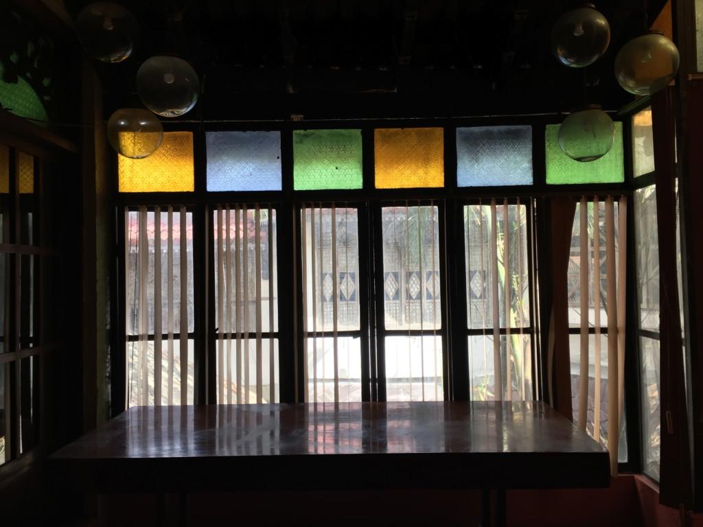 ステンドグラス(バラウ・バラウ・レストラン内に併設の美術館)