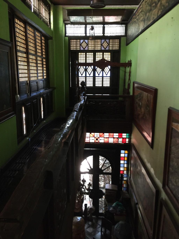 スペイン植民地の名残を感じる建物デザイン(バラウ・バラウ・レストラン内に併設の美術館)