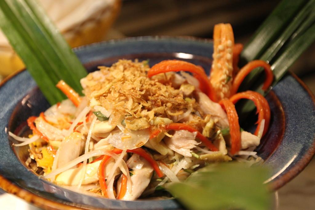 野菜たっぷり、春雨風ひんやり麺