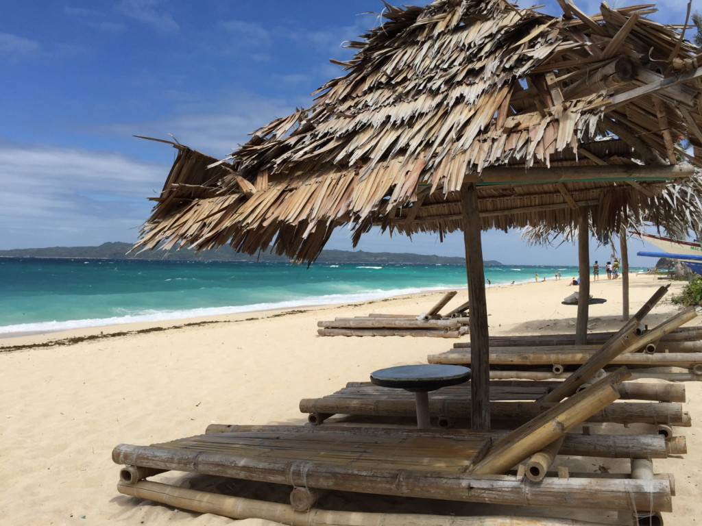 海辺の「昼寝スペース」