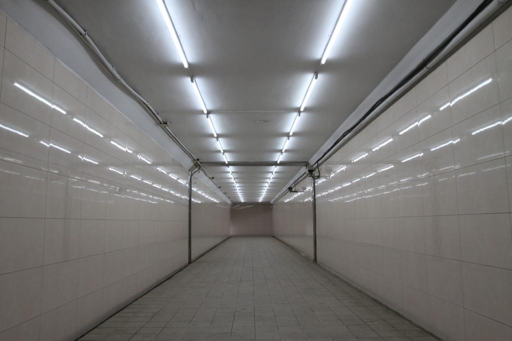 地下道の構内