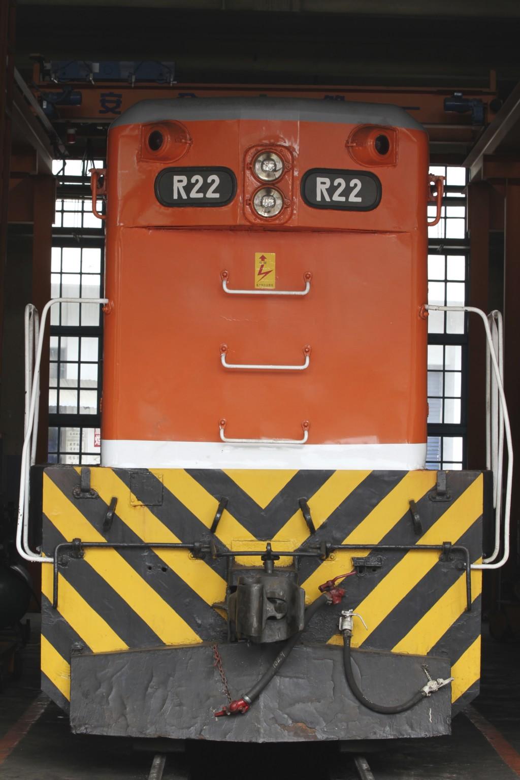 ディーゼル機関車(R22)