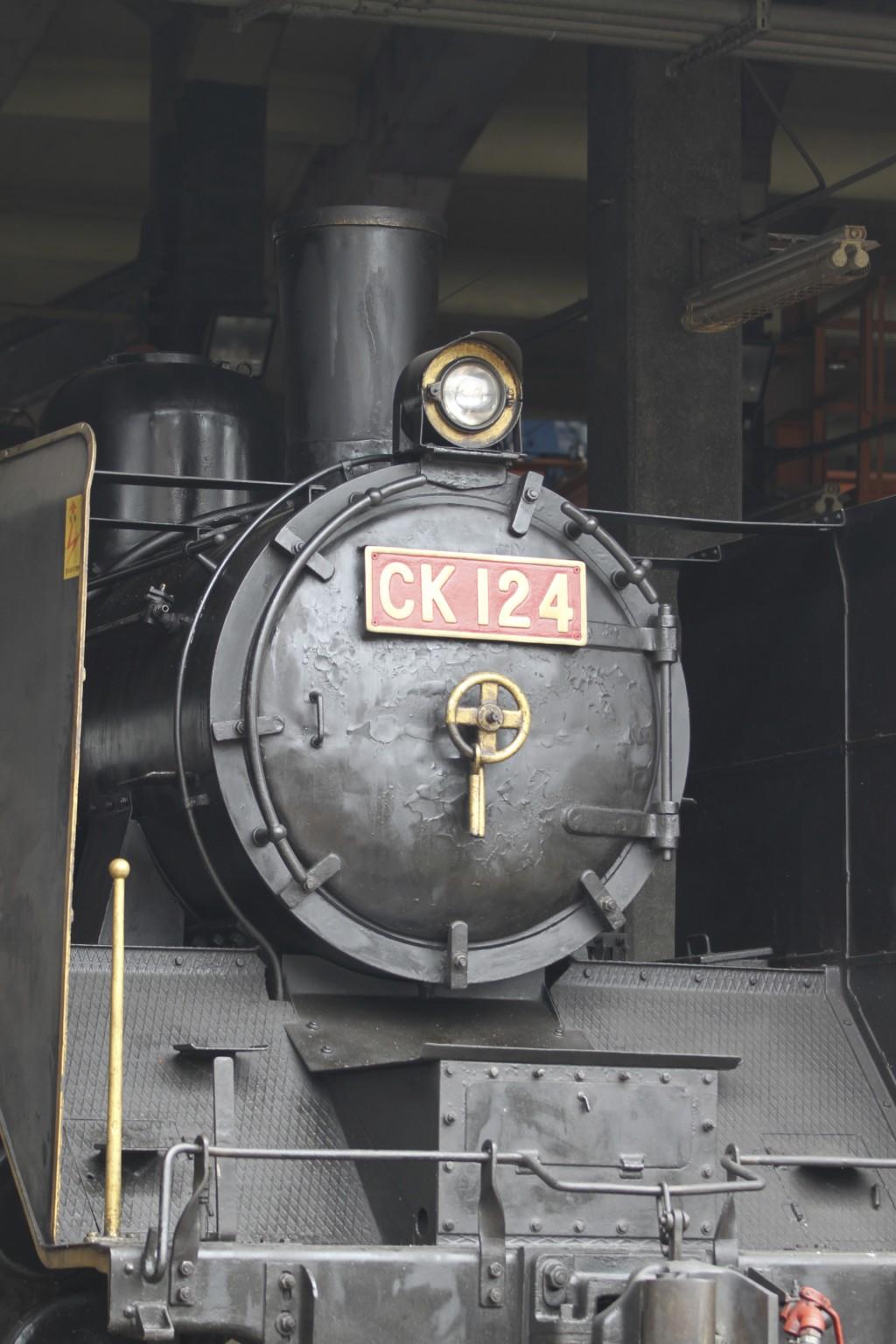 蒸気機関車(CK124)
