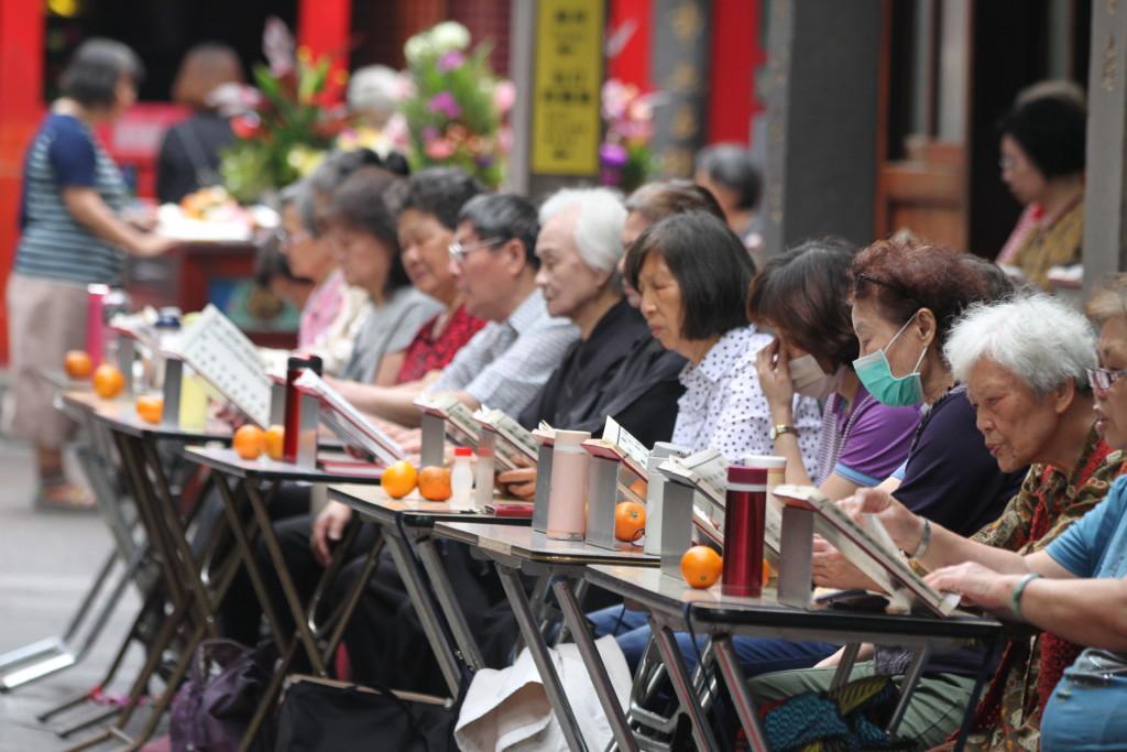 台湾の人々は信仰心が厚い