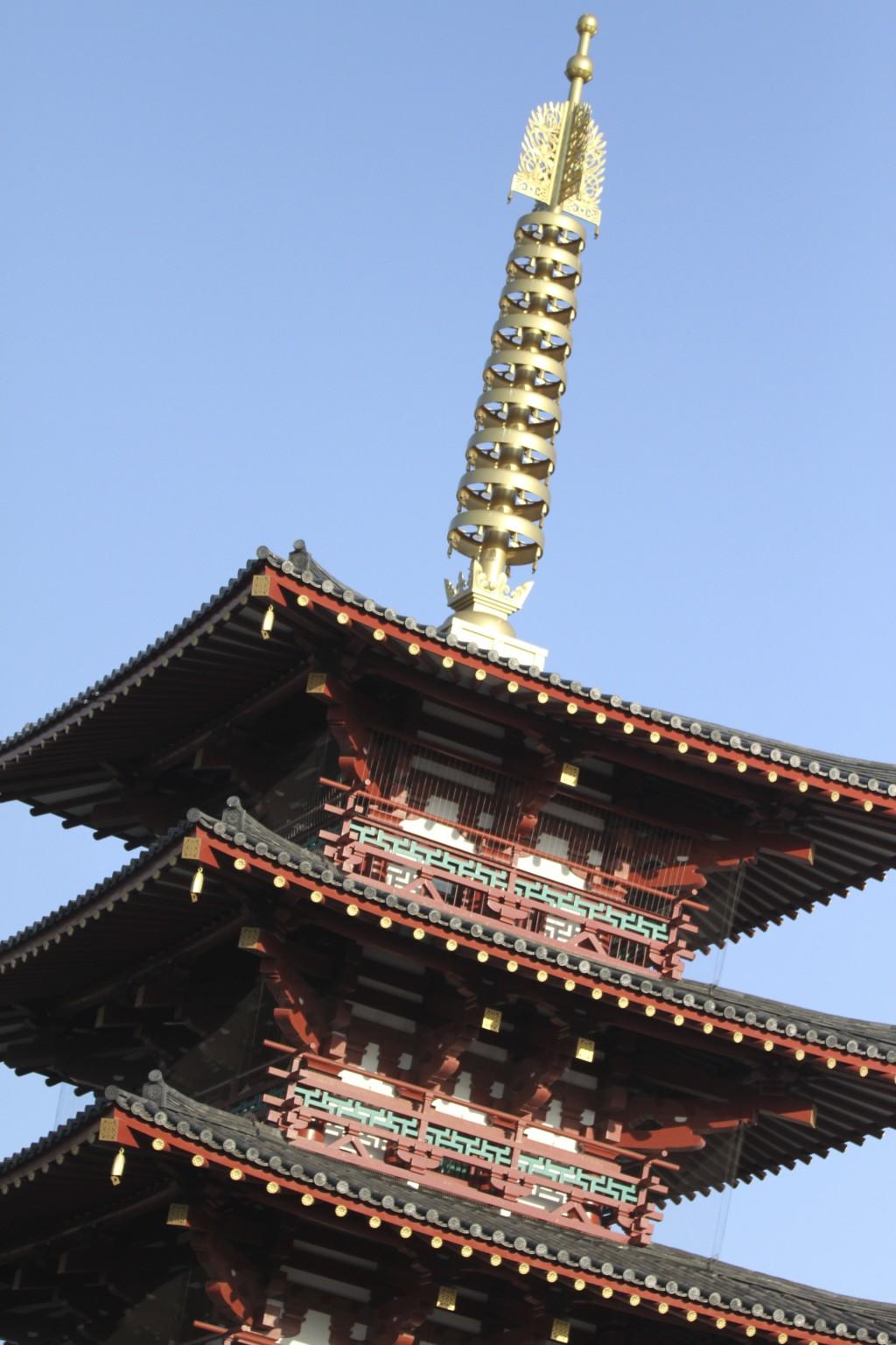 四天王寺へも寄り道