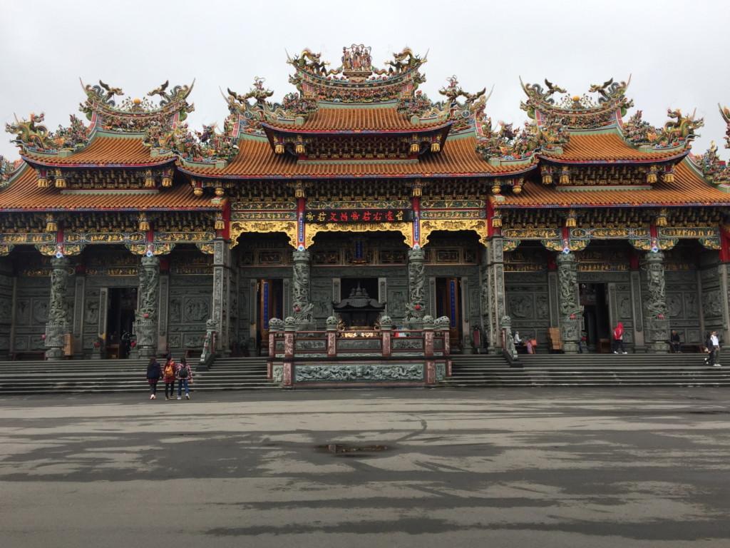 「竹林山觀音寺」の主殿