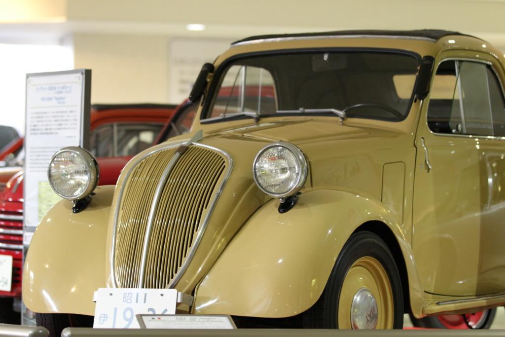 フィアット 500A トッポリーノ(イタリア、1936年製)