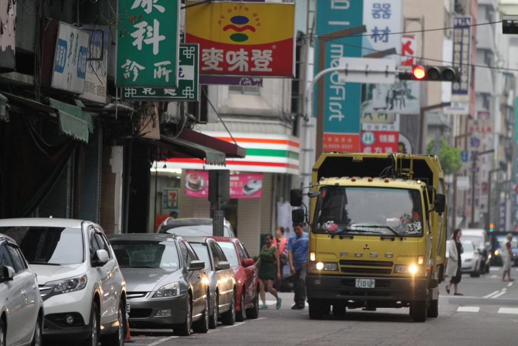 『乙女の祈り』メロディが、ごみ収集車が来たことを知らせるというルールは、台北と一緒だ