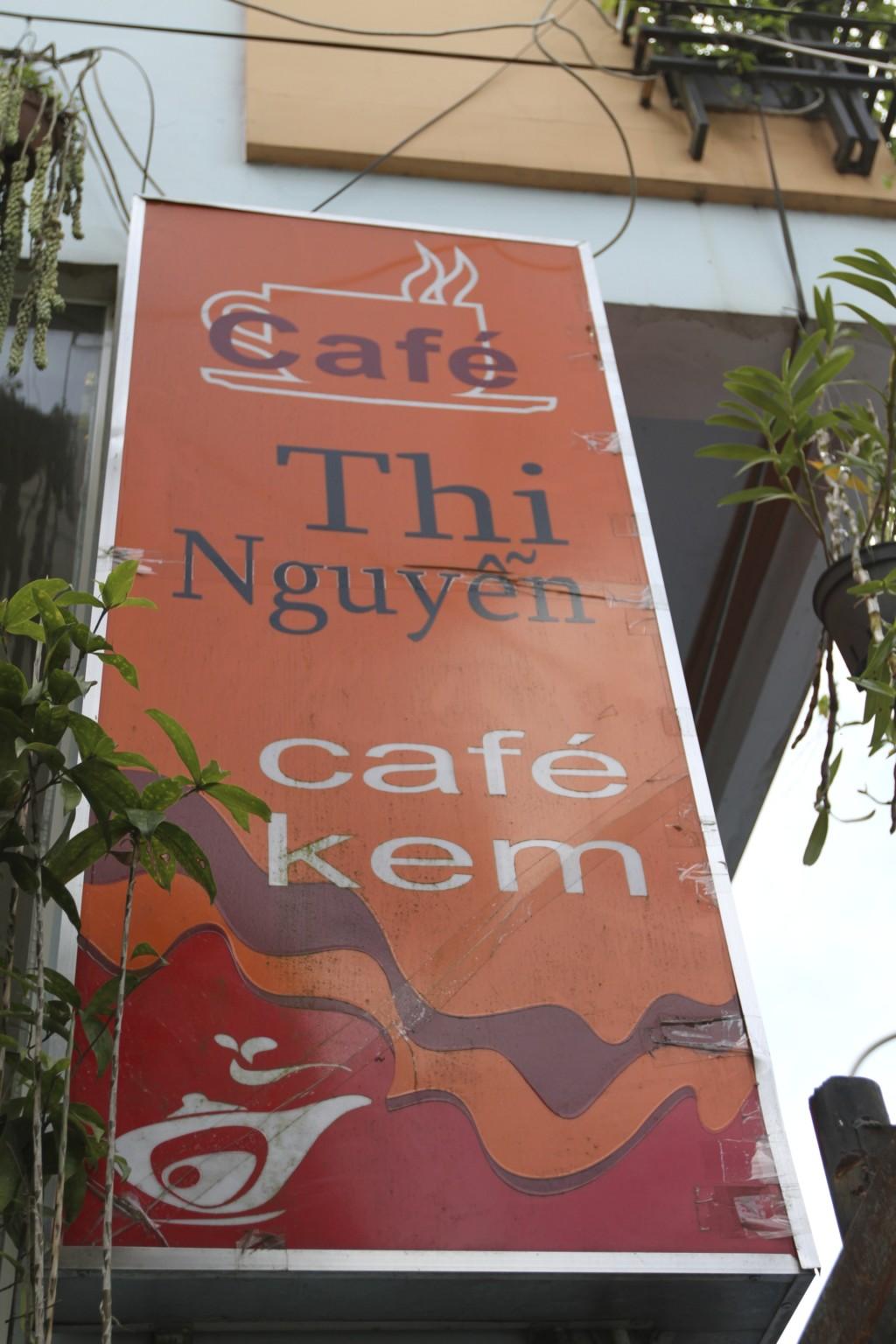 Thi Nguyenは、おそらくオーナーの名前だろう