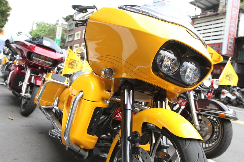 黄色ボディの車体が多かった
