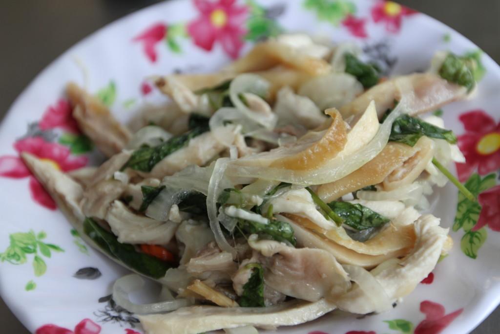 野菜と肉の炒め物