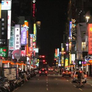 台北の「不夜城」西門エリア