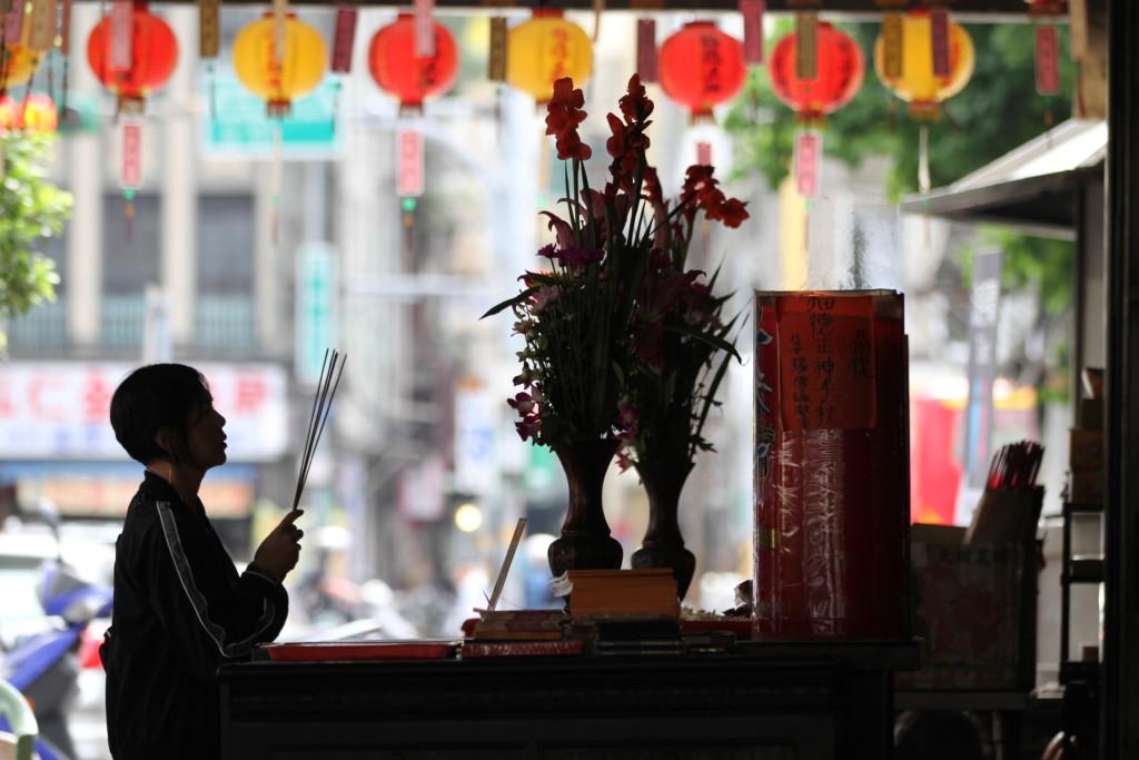 信仰深い台湾の国民性