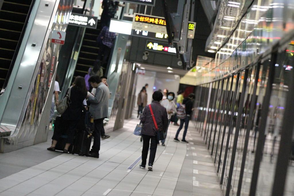 MRT松山駅へ