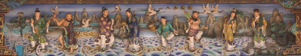 こちらの陶芸アートには、作者名と思われる「葉星佑」という文字があった