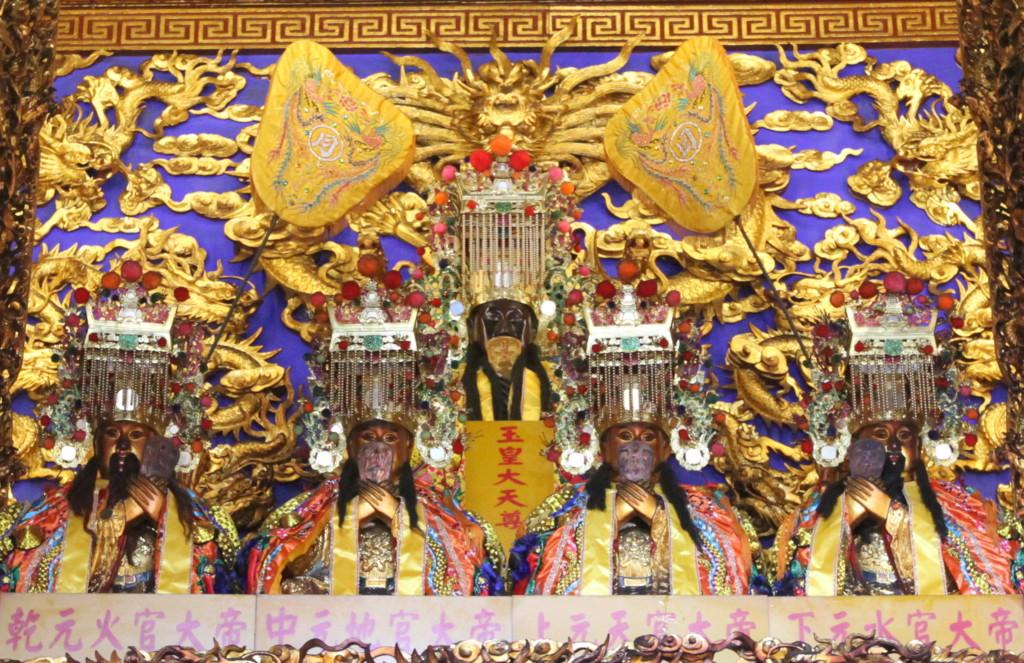 松山慈祐宮に祀られる神様(の、ごく一部) その1
