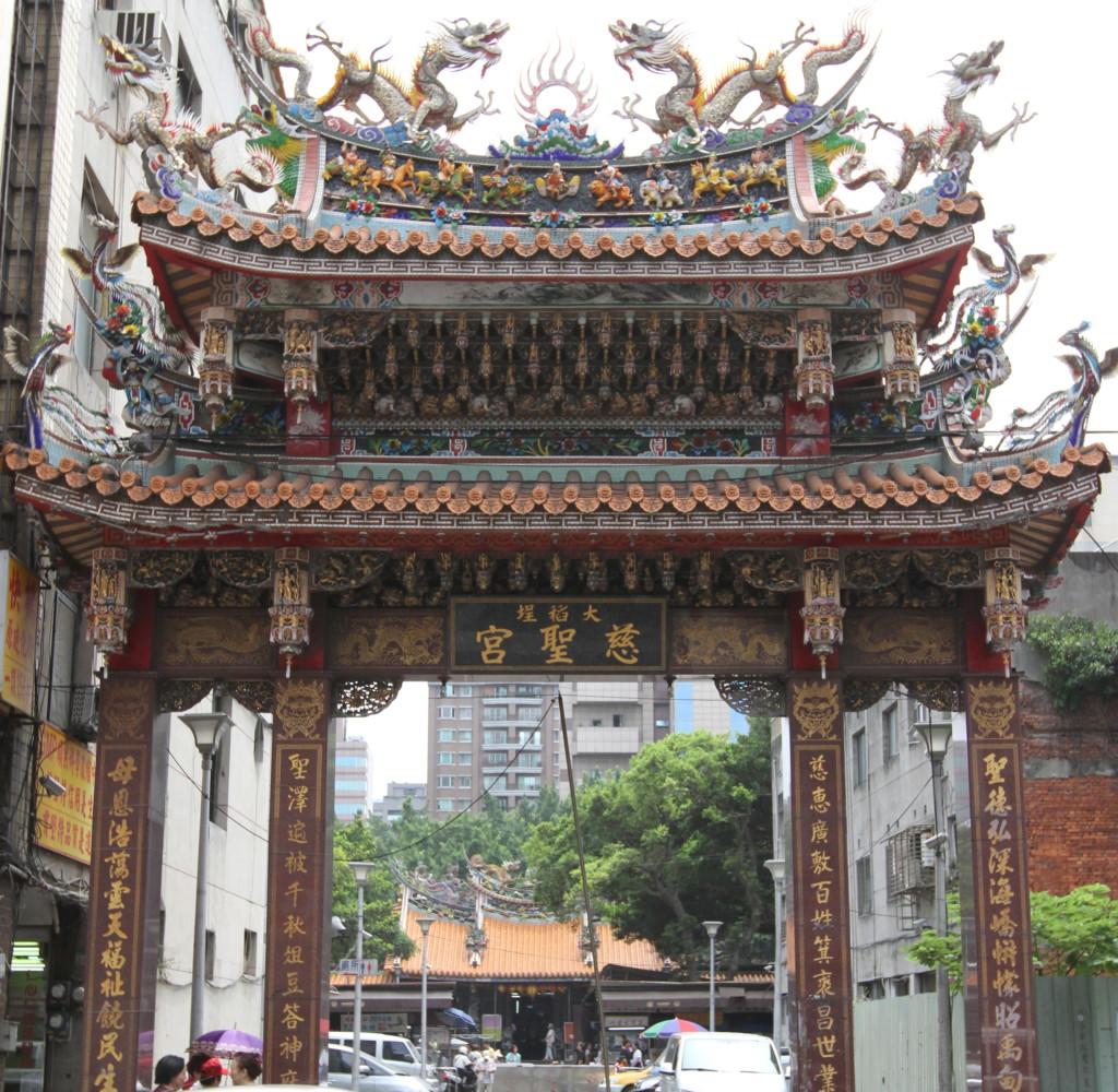 「慈聖宮」の門