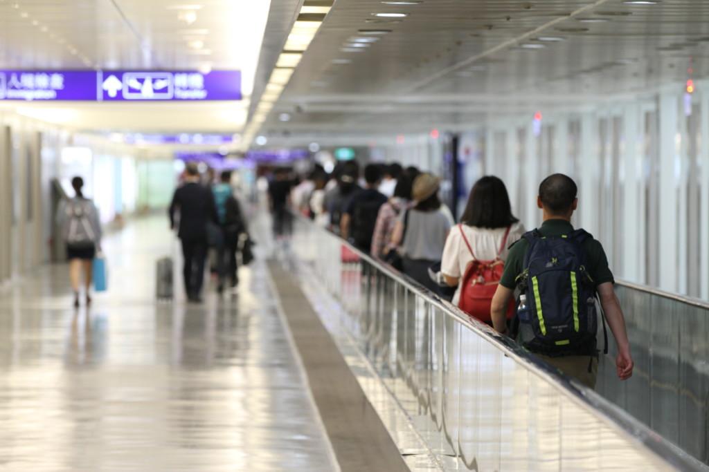 台湾「空の玄関口」。おなじみ、桃園国際空港