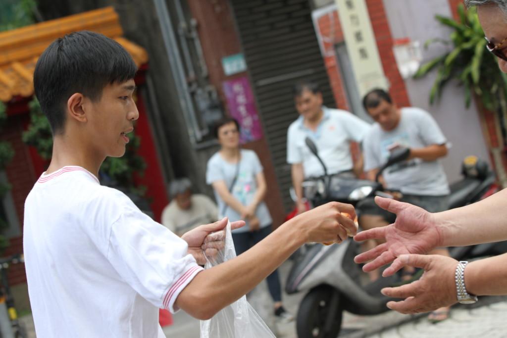 台湾の国技「ほどこし」