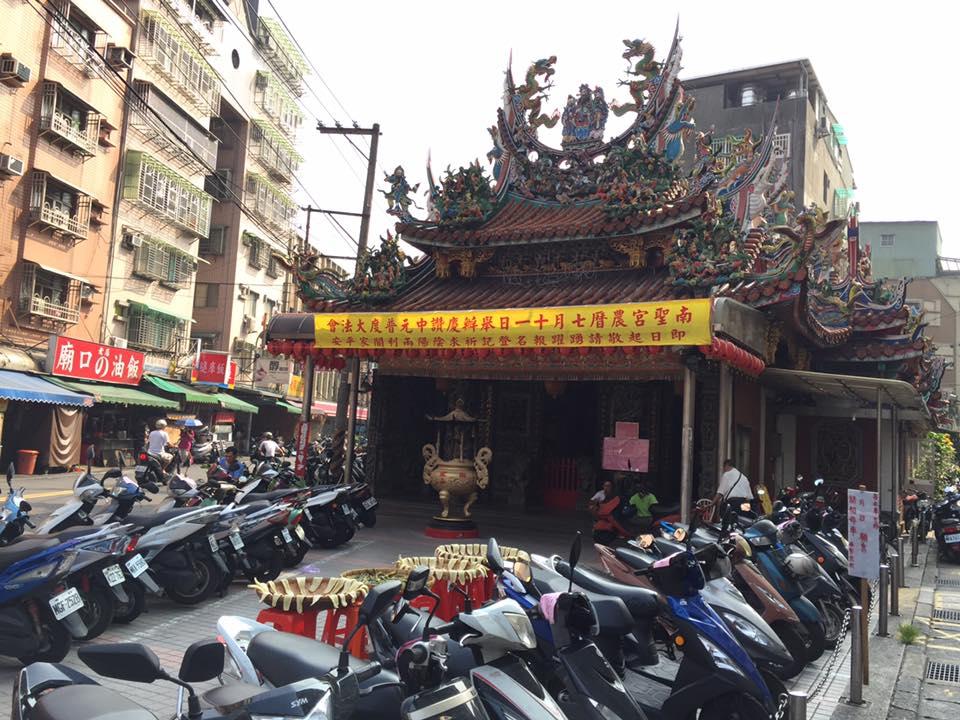 台湾なら、どこにでもある「廟」
