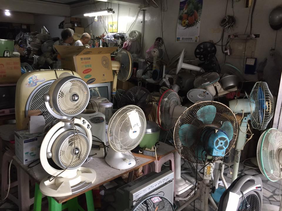 扇風機修理の専門店