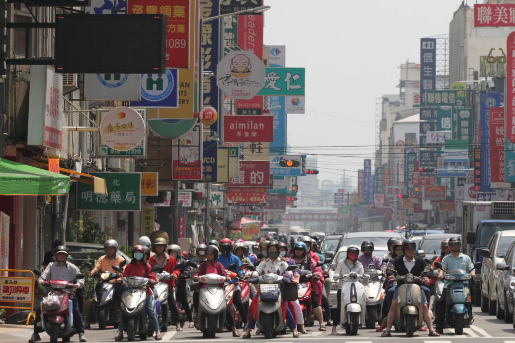 「バイク大国」台湾