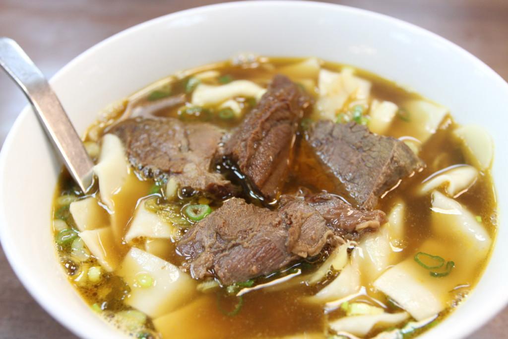 「牛肉家常麺」
