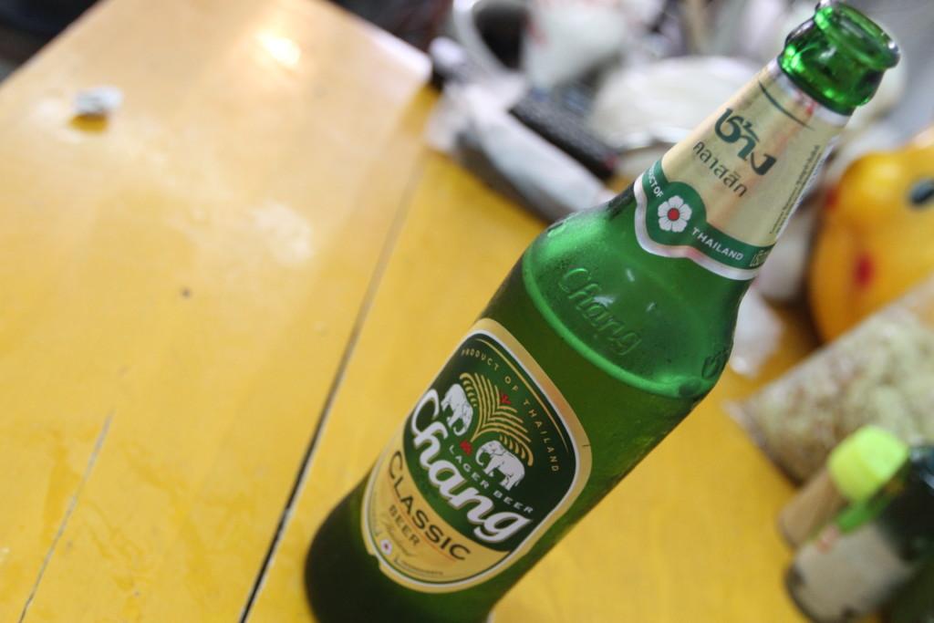 タイのビール「チャーン」