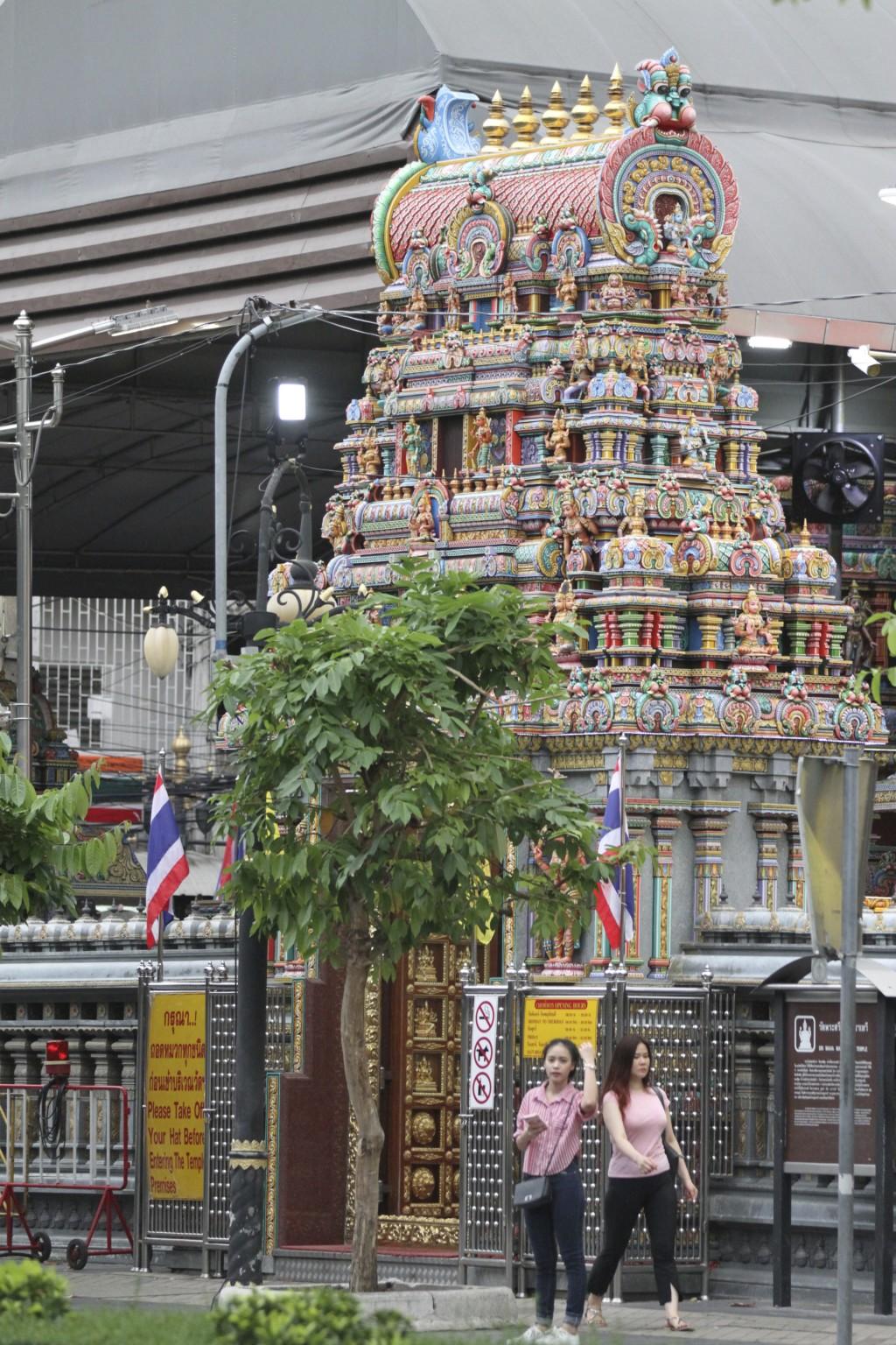 バンコク最大級のヒンドゥー寺院