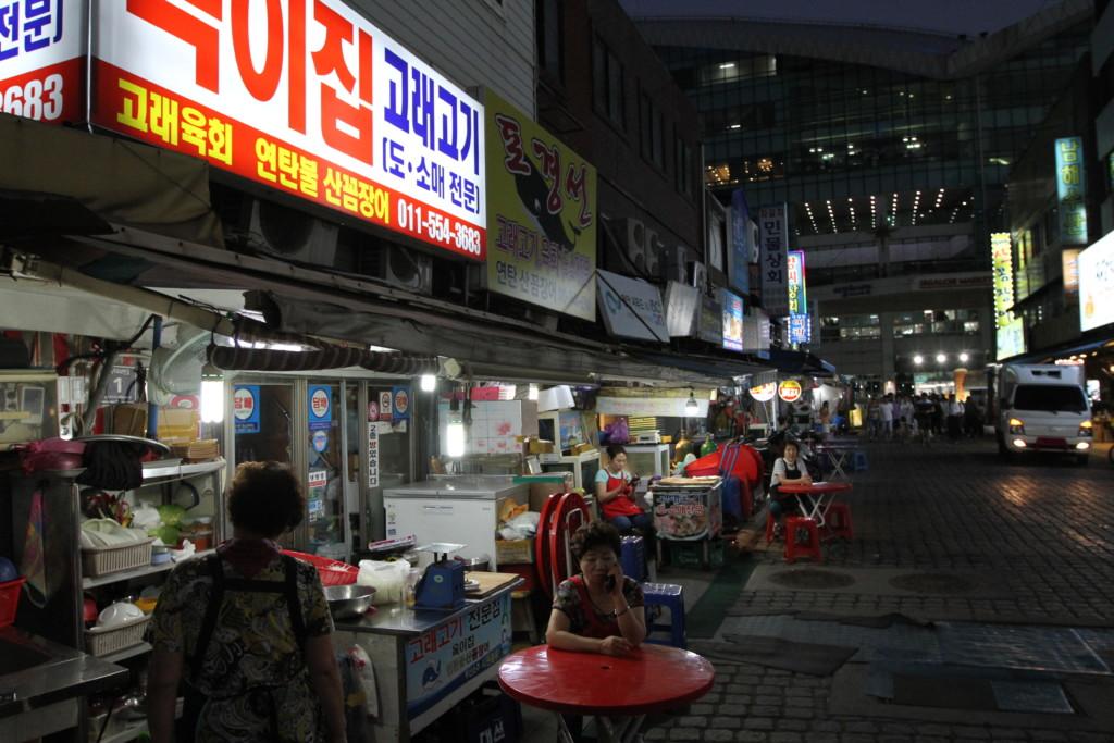 夜の釜山 3