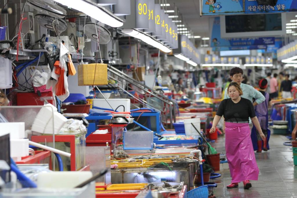 チャガルチ市場の風景 2