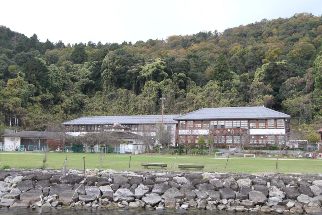 「沖島小学校」