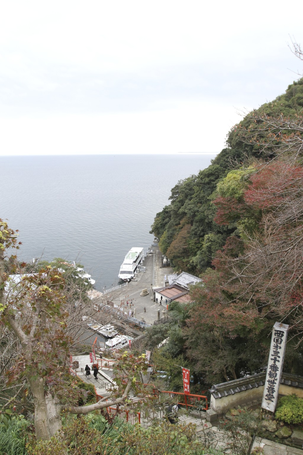 「宝厳寺」から俯瞰