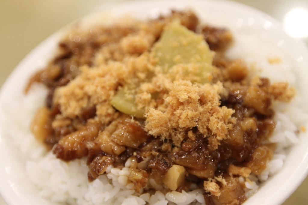 「豚肉のそぼろご飯(魯肉飯、滷肉飯、ルーローファン)」
