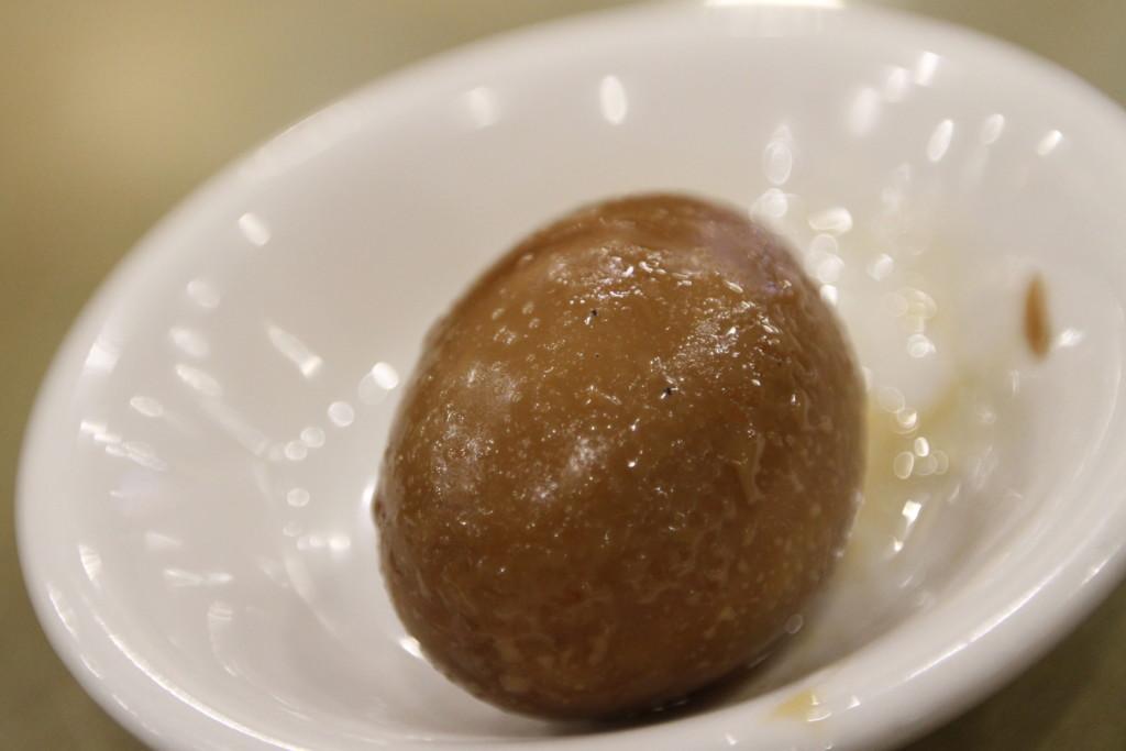 「しょうゆ味煮卵(滷蛋)」
