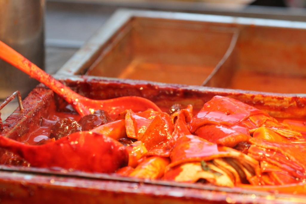 韓国の料理は「赤い」