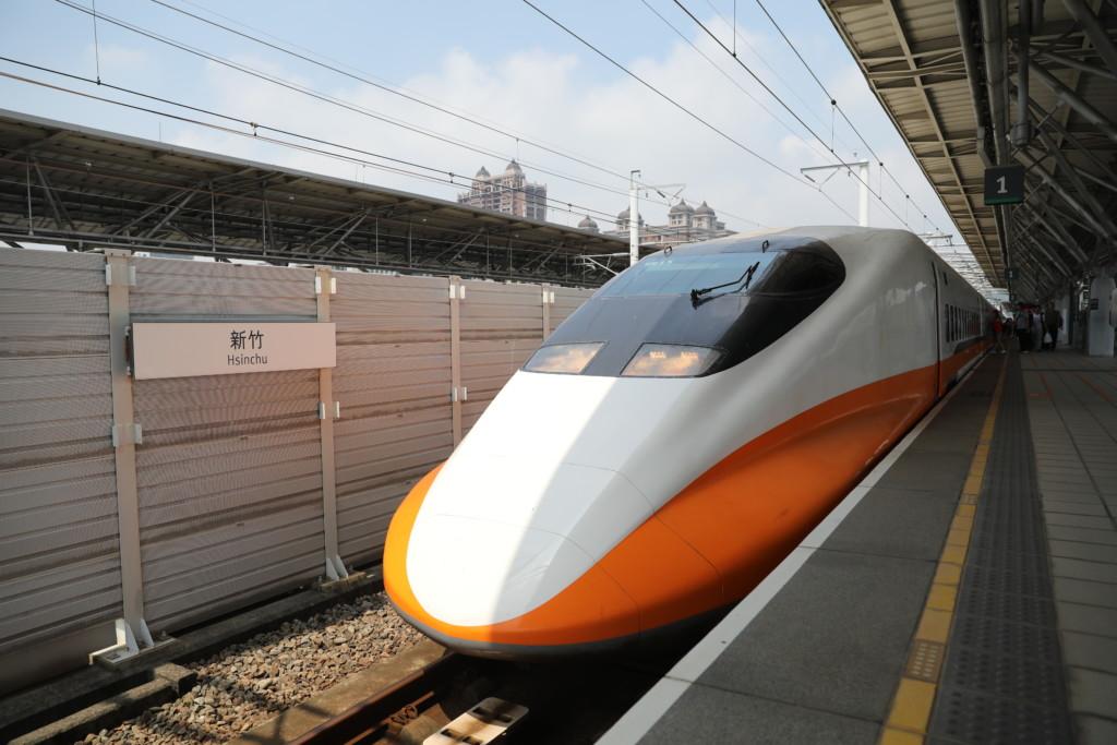 新竹駅へ到着