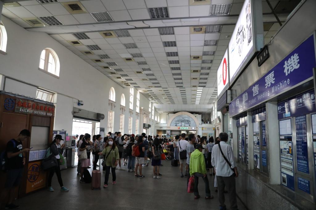 新竹駅へ駆け込んだが……