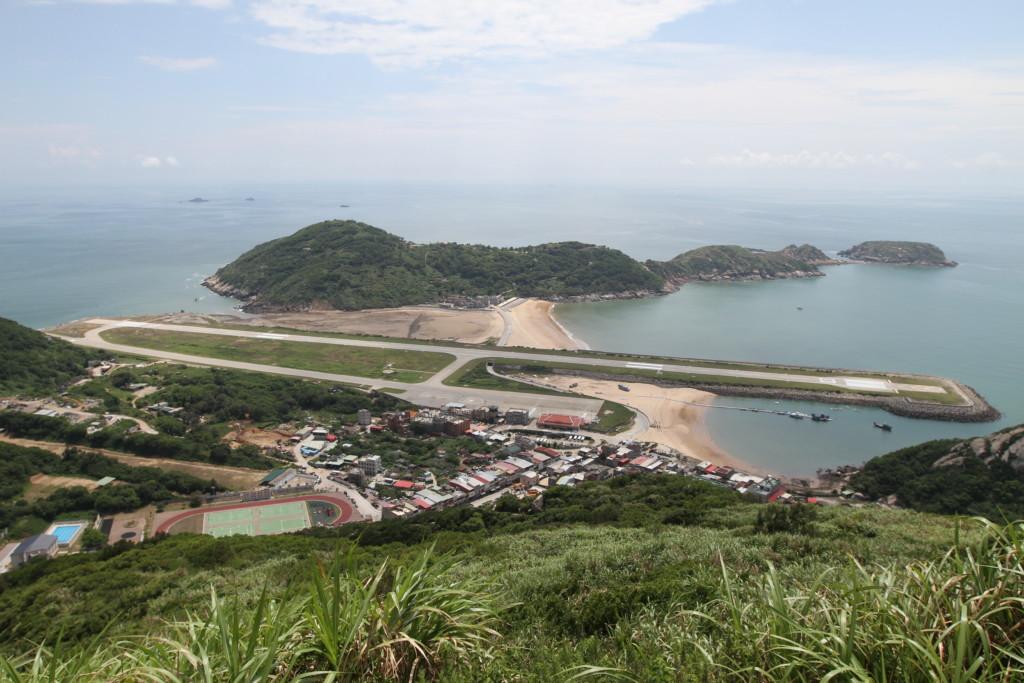 「壁山」展望台からの景色