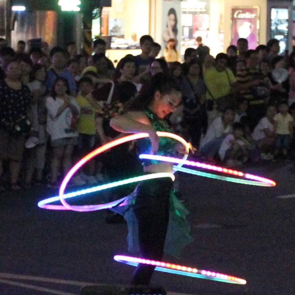 電光フラフープ