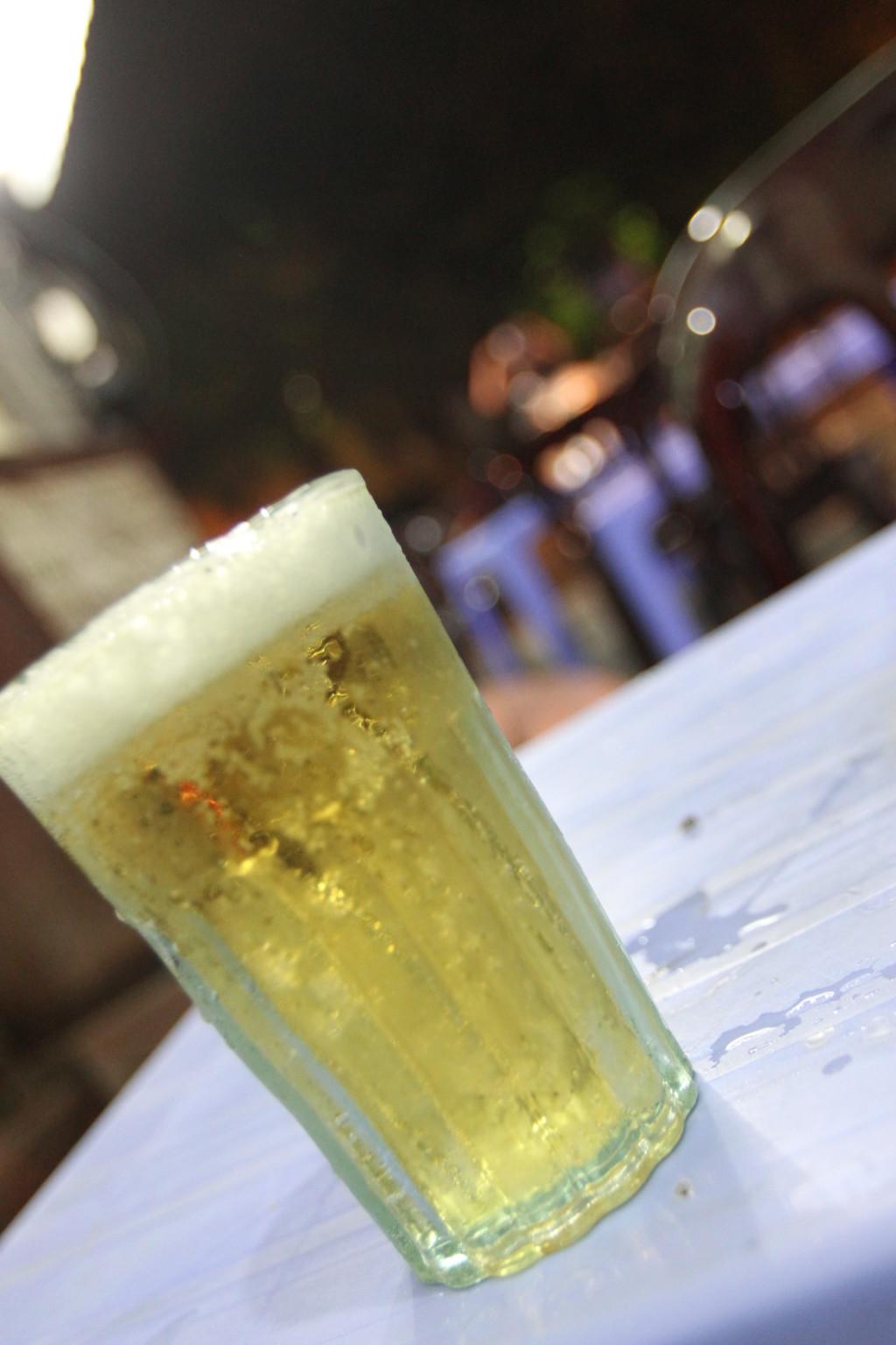 一杯50円のビール