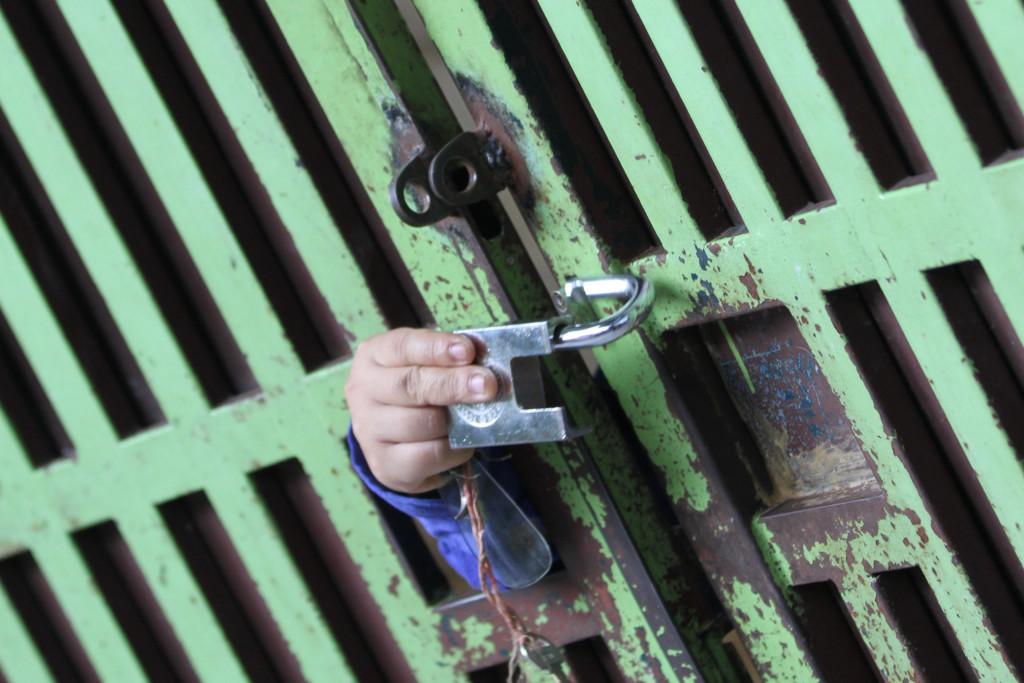 まさかの「開錠」 3