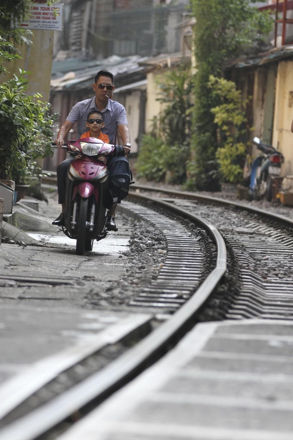 バイクの「通路」にも