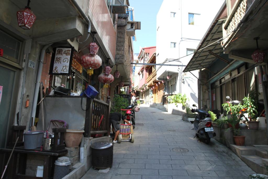 古い街並み(北竿島)